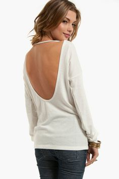 easy to do - cut out back of sweat or T-shirt but leave neck ribbing intacked