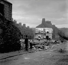 Standing in ruins, Newcastle upon Tyne