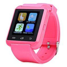 3cd27635fdb U8S Outdoor Sports Bluetooth 3.0 Smart Watch Heart Rate Monitor Sleep  Tracker Pedometer Relógio Digital