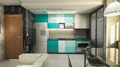 Put Some Colour In Your Kitchen