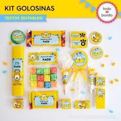 Gaturro: caja popcorn para imprimir - Todo Bonito Girls, Cellophane Bags, Small Boxes, Goodies, Daughters, Girlfriends