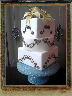 Yellow Lilies Cake