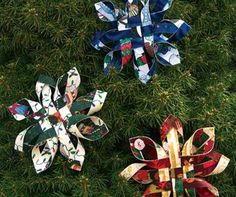 Make snowflakes in July? Sure! What better way to get a jump on your Christmas creations? If you order your Christmas fabric projects now, you'll be able to finish them in time to actually enjoy the holidays. So let's start with a fun project that is one of our most popular Christmas fabric crafts, the…