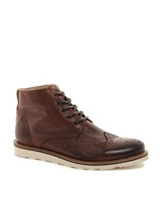 Enlarge River Island Constable Brogue Boots: 114.01