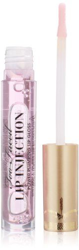 Too Faced Lip Injection Power Plumping Lip Gloss for Women, Ounce : Lip Plumpers : Beauty Lip Injection Lip Gloss, Lip Injection Extreme, Lip Injections, Plumping Lipstick, Lipgloss, Glossier You, Big Lips, Too Faced Makeup, Lip Kit