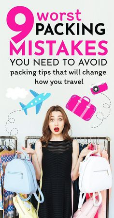 best packing tips for your vacation: avoid these mistakes and you will be ab. The best packing tips for your vacation: avoid these mistakes and you will be ab.The best packing tips for your vacation: avoid these mistakes and you will be ab. Packing Tips For Vacation, Travel Checklist, Travel Advice, Travel Guides, Travel Hacks, Packing Tricks, Suitcase Packing Tips, Cruise Packing, Packing Ideas