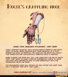Homebrewing design Rogues grappling h - homebrewing Dnd Dragons, Dungeons And Dragons Characters, D&d Dungeons And Dragons, Dnd Characters, Dnd Stats, Pen & Paper, Dnd Stories, Dungeon Master's Guide, Dnd Funny