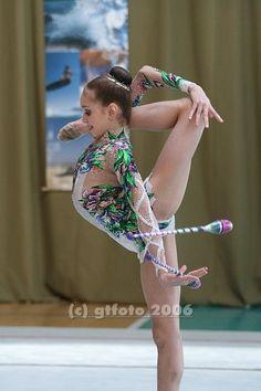 Ekaterina Donich, Russia; retired; #rhythmic_gymnastics