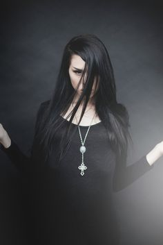 Casstronaut x Ghostlove Gothic 4, Rosary Necklace, Photoshoot, My Style, Metal, Poetry, Jewelry, Photography, Black