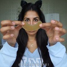 GET RID OF DARK CIRCLES PERMANENTLY do you have: DARK CIRCLES? PUFFY undereye? Wrinkles? then try these DIY eye patches- which will not only remove puffiness, but itll get rid of wrinkles over time and lighten up those dark Chanel circles.. HOW? more on that later. A few mins to make this DIY will save you big $$$$$ on eye creams + eye patches  to make the EYE PATCHES: ✅Boil 1/2 CUP WATER with CHAMOMILE Tea ✅add 1TSP of AGAR AGAR to thicken ✅WHISK until smooth ✅spread flat onto wa...