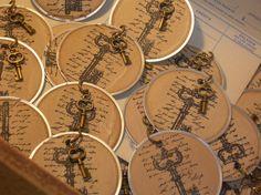 25 Vintage Skeleton Key Tags,Wishing tree tag with Key, Old Keys,Bronze Skeleton Keys,Wedding Skeleton Keys, Key Tags, Metal Key Charm