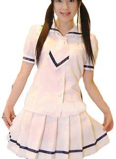 White Short Sleeves Ruffled Cotton Lolita Dress