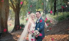 // REAL WEDDING // It was a case of friendship blossoming into true love for Brisbane newlyweds Kim + Bradley. Image captured by Christopher Thomas Photography Newlyweds, Brisbane, True Love, Love Story, Real Weddings, Friendship, Groom, Bride, Wedding Dresses