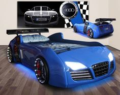 Quattro V8 Car Bed - Awesome Beds 4 Kids