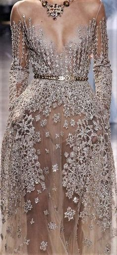 notordinaryfashion:Elie Saab F/W 2017 Haute Couture Source by libecaward couture gowns Elie Saab Couture, Look Fashion, Runway Fashion, Fashion Show, Fashion Design, Net Fashion, Gala Dresses, Evening Dresses, Wedding Dresses
