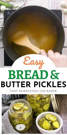 These easy refrigerator pickles don't require the full canning process, so they're simple to make and impossible to resist! Fun Easy Recipes, Popular Recipes, Sweet Recipes, Recipes Dinner, Delicious Recipes, Cake Mix Recipes, Baking Recipes, Cookie Recipes, Pie Recipes
