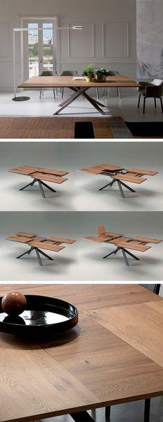 ausziehbarer tisch aipetri ii esstische designer tische und sthle gnstig kaufen im online shop tisch4all wohnen pinterest sthle gnstig kaufen - Erweiterbar Runden Podest Esstisch