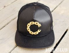 CROOKS & CASTLES Chain C Trucker Snapback Cap @ HAT CLUB