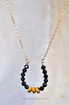 Royal horseshoe gold necklace @noholife