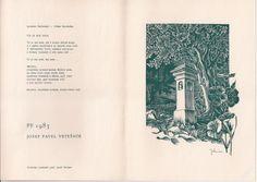 PF /dvojlist/ od Josefa Weisera - rozměr tisku 117x152mm