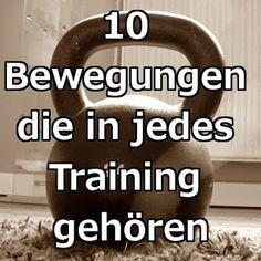 10 Bewegungen für jedes Training