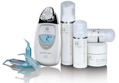 Galvanic Facial Spa the 'Stars, such as Brad Pit, Nicole Kidman, Simon Cowell use to take years off themselves! Galvanic Facial, Galvanic Spa, Super Healthy Recipes, Healthy Foods To Eat, Get Healthy, Nu Skin Ageloc, Health And Wellness, Health And Beauty, Creating Positive Energy