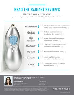Rodan + Fields Message me or check out my website for more info!  Cyr.myrandf.com