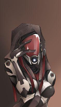 Mass Effect Quarian by Meiphon.deviantar... on @deviantART