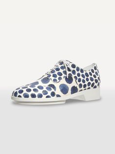 Arche Fancy Oxford Shoes in Blue Spots Adventure Outfit, Polka Dot Print, Fashion Prints, Keds, Oxford Shoes, Slip On, Fancy, Seasons, Sneakers