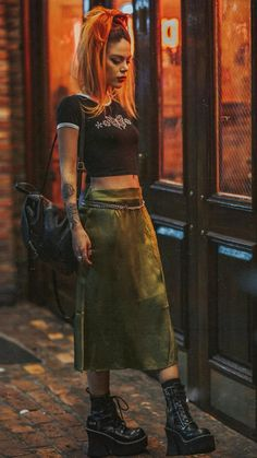 2000 Style, Dope Swag, Luanna, Hunters, Leather Skirt, Costumes, My Style, Skirts, Clothing
