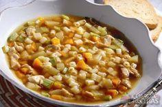 Receita de Sopa de ave maria e legumes caramelizados em receitas de sopas e caldos, veja essa e outras receitas aqui!