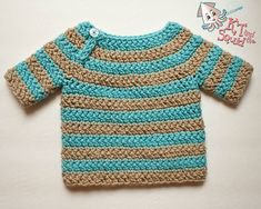 Ravelry: Bailey Sweater Infants pattern by KT and the Squid