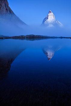 Blue - Matterhorn, Zermatt, Switzerland