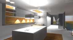 Projekt domu jednorodzinnego- pomieszczenia dla rozrywki -bilard
