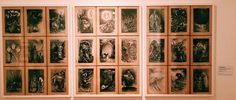 """Ilustrime te """"Tregime të moçme shqiptare"""" ,Gazmend Leka , Galeria Kombetare e Arteve ,Tirane"""