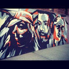 #streetart #brooklyn #graffiti