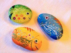 Tres pescaditos. Three fish.