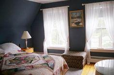 denim blue bedroom