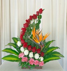 pink carnations should have been orange
