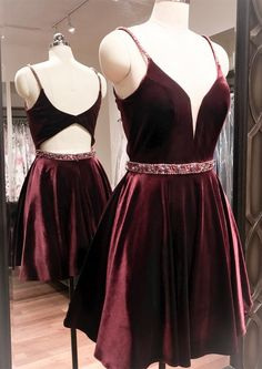 homecoming dress, 2017 short homecoming dress, short burgundy homecoming dress, party dress