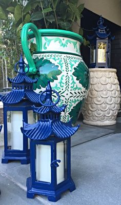 Our Pagoda Outdoor Lantern pays homage to the timeless grace of traditional East Asia architecture. | Madcap Cottage for Hampton Designer Showhouse 2015