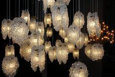 "Pendant Light-""Quartz Crystal"""