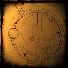 Compass tattoo design by E.R. Womelsduff