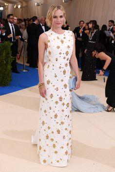 Diane Kruger in Prada Met Gala May 1 2017