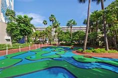 Have Some Fun Off The Beach With 9 Hole Mini Golf Course Win A 3 Night Stay At Tradewinds Island Resorts In St Pete Florida Visit