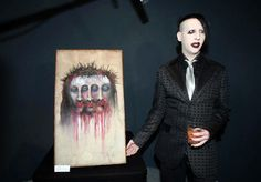 I want to go to a Marilyn Manson art show