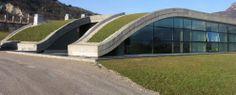Cantina Mori Colli Zugna.  Location: Vallagarina, Trento;  architects: Studio Andrea Tomasi e Associati; year: 2010