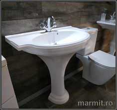 Lavoar cu picior Savona din compozit marmura Sink, Retro, Home Decor, Sink Tops, Vessel Sink, Decoration Home, Room Decor, Sinks, Rustic
