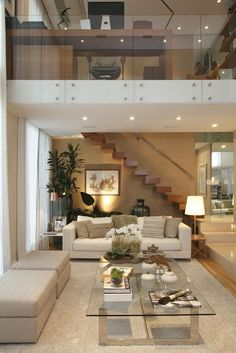 House Interior Design Ideas - Inspirational Interior Decoration Suggestions for Living Area Style, Bed Room Design, Cooking Area Design as well as the whole home. Modern Interior Design, Interior Architecture, Modern Interiors, Living Room Designs, Living Spaces, Living Area, Living Rooms, Cozy Living, Apartment Living