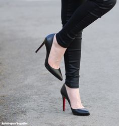 Getting Your Christian Louboutin Shoes To Fit | Raindrops of Sapphire They used to hurt so much!!!